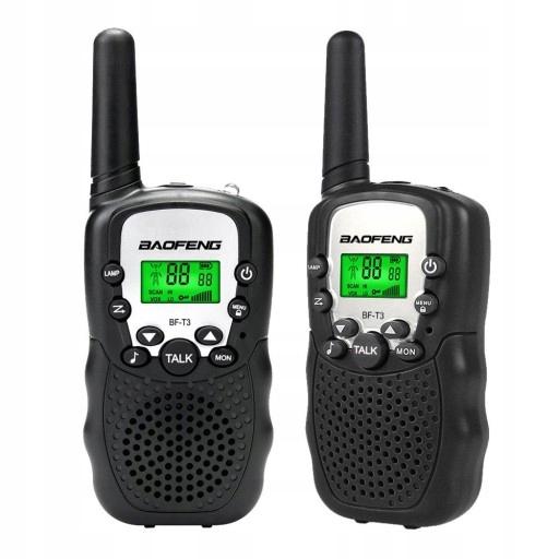 Item 2x Baofeng BF-T3 walkie Talkies PMR Loki Toki LATAR