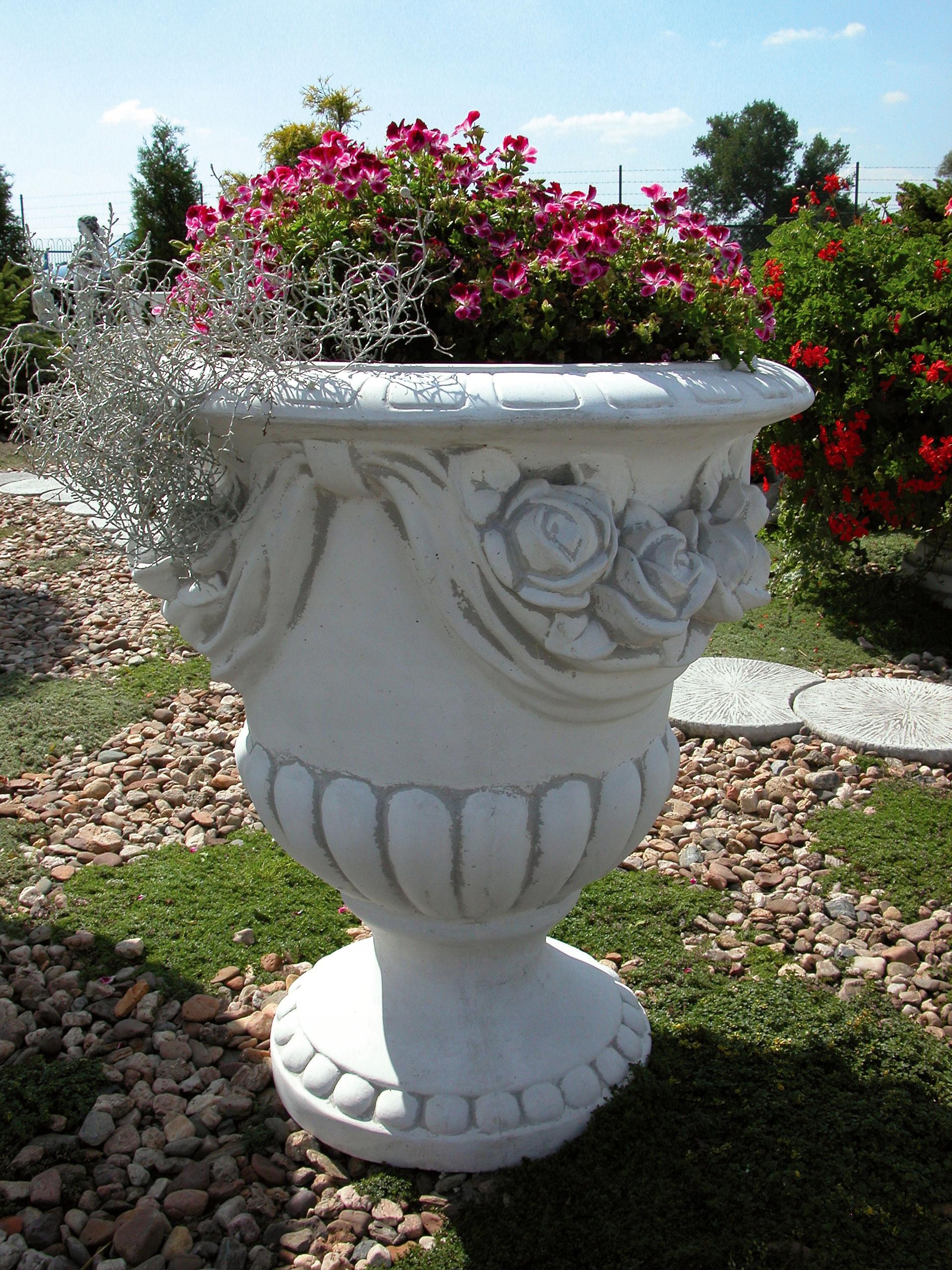KRÁSNE kvetináče, FLOWERBED - 578 VEĽKÉ 70 cm
