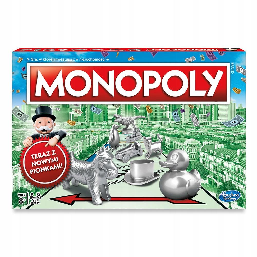 Hasbro Monopoly Standard Classic C1009 NOWA WERSJA