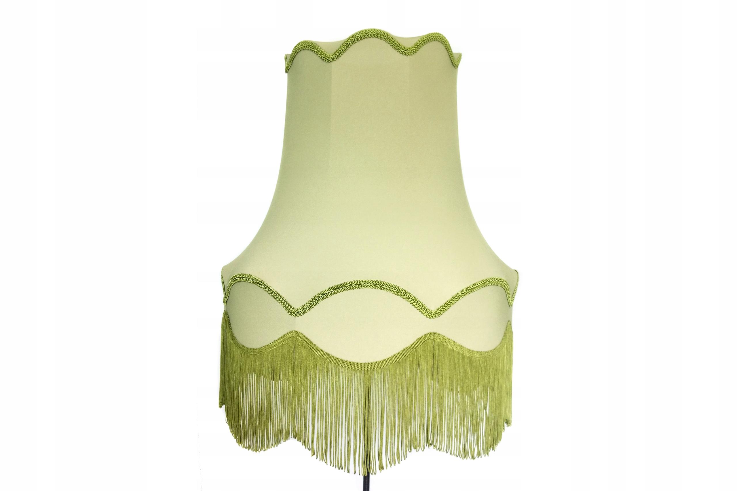 Абажур большой для ламп stojacych и так далее. зеленый