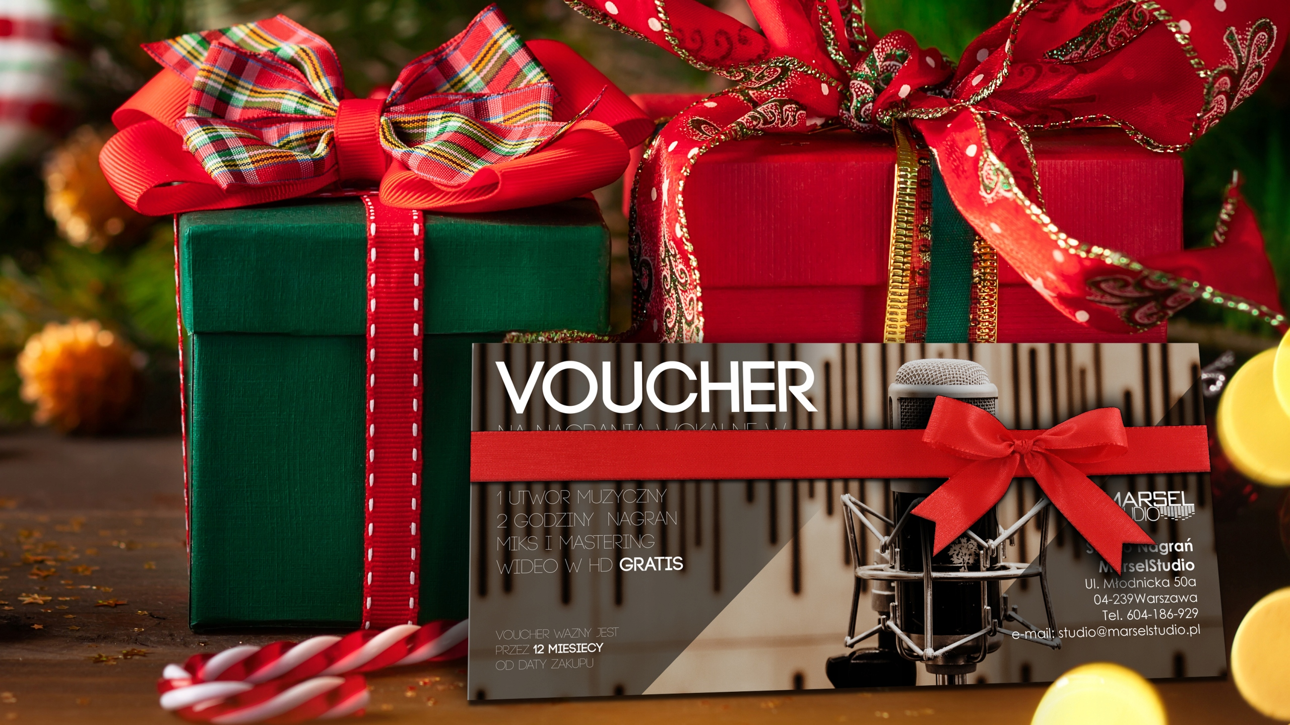 Item A voucher for recording vocals vocals gift certificate gift
