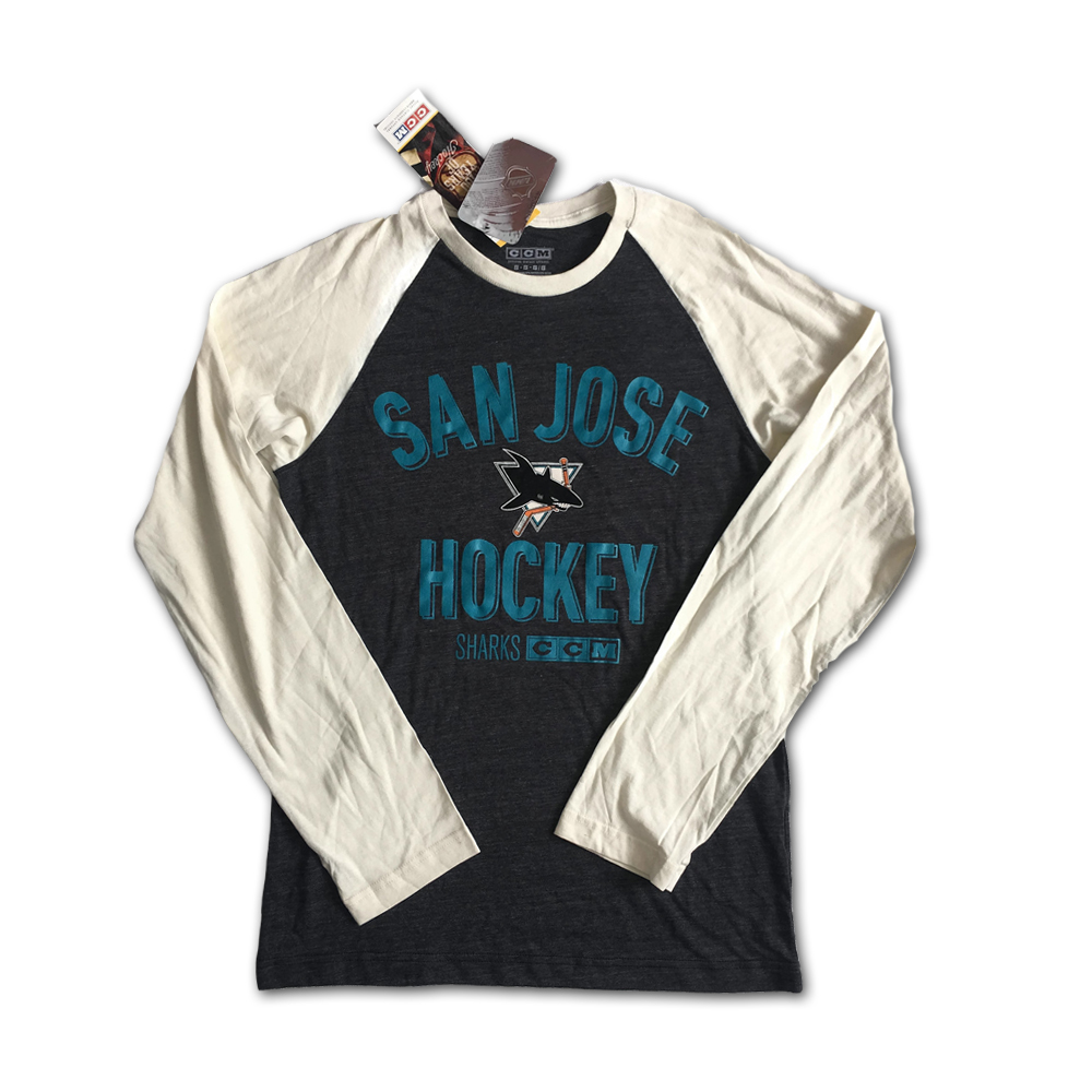 Blúzka San Jose Sharks Vintage CCM Retro NHL H
