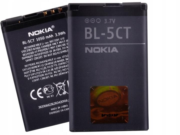 Oryginalna Bateria Nokia BL-5CT C3 C5 C6 5220 5630
