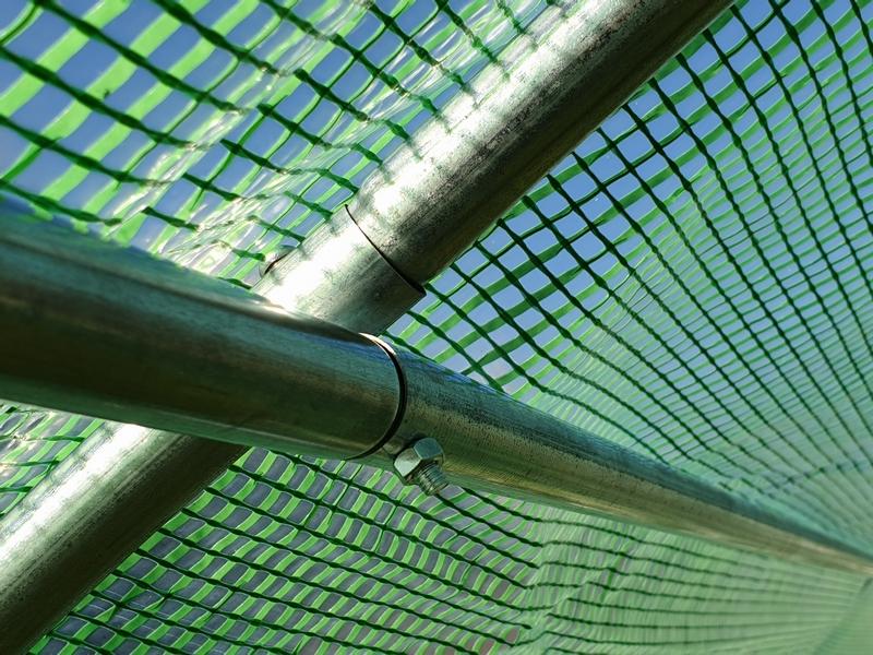 TUNEL FOLIOWY OGRODOWY szklarnia 2x3 m 6m2 (TO2x3) Wysokość 200 cm