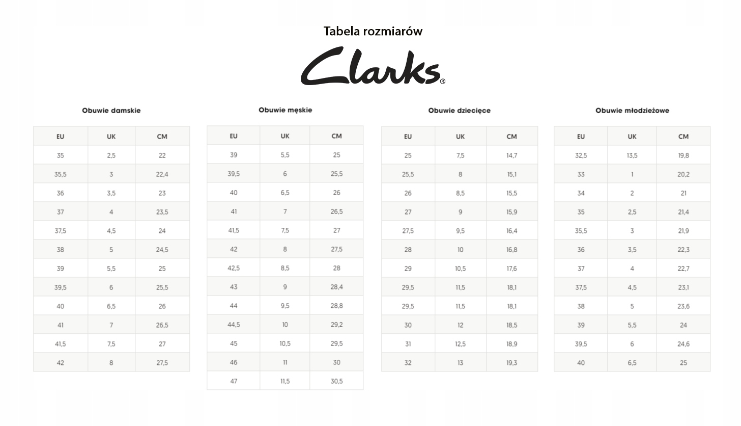 Kozaki Clarks Netley Ride (261435004) 40