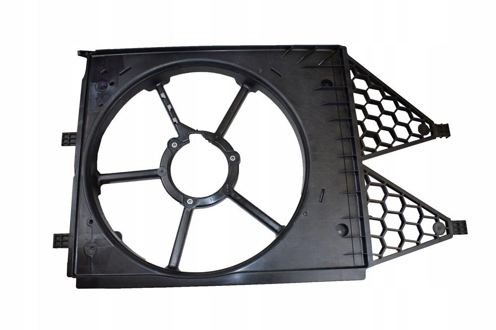 корпус крепление вентилятора vw поло 2010-