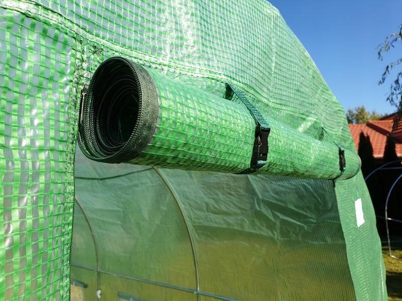 TUNEL FOLIOWY OGRODOWY szklarnia 2x3 m 6m2 (TO2x3) EAN 5901885570532