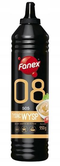 Item FANEX Sauce 1000 Islands 950G