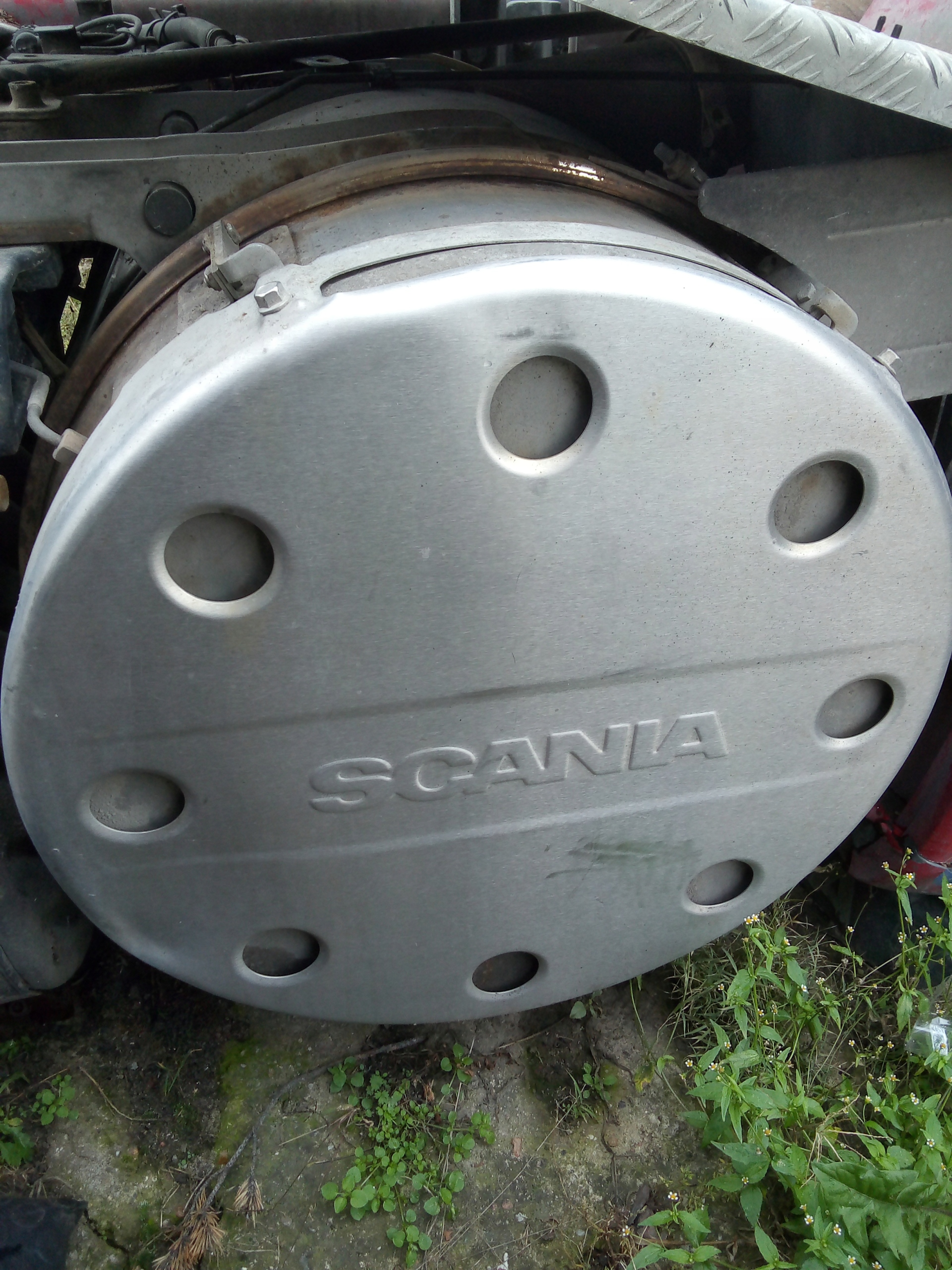 глушитель катализатор scania r евро 5 2012 r