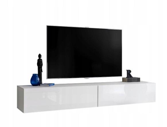 RTV Шкаф для гостиной, подвесная камера 200 см, глянцевый