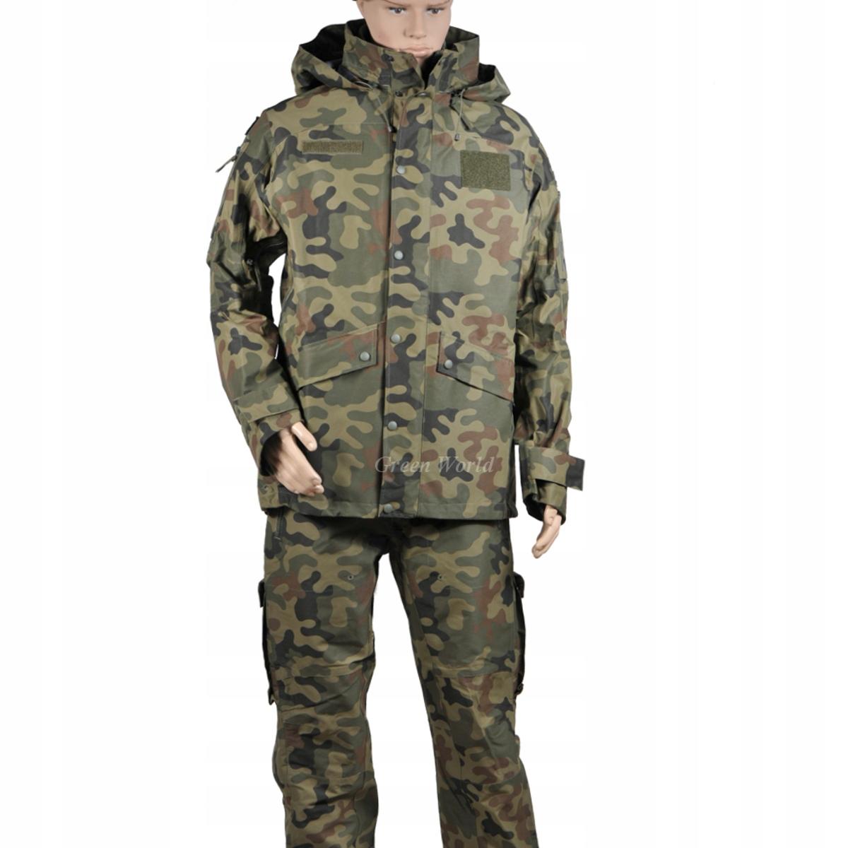 Ubranie wojskowe gore-tex 128Z/MON nowy wzór