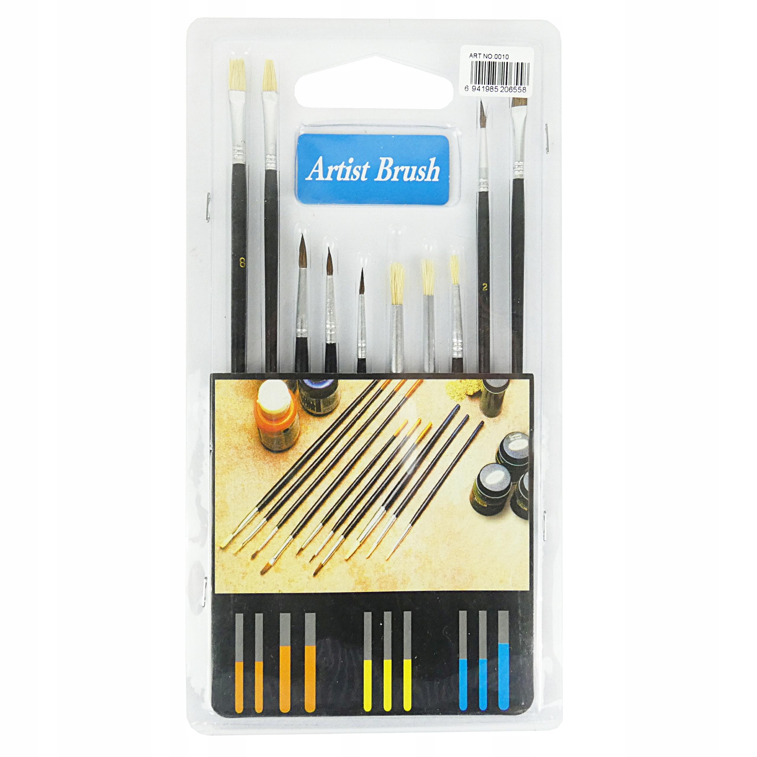 Item Paint brush set 10 PCs
