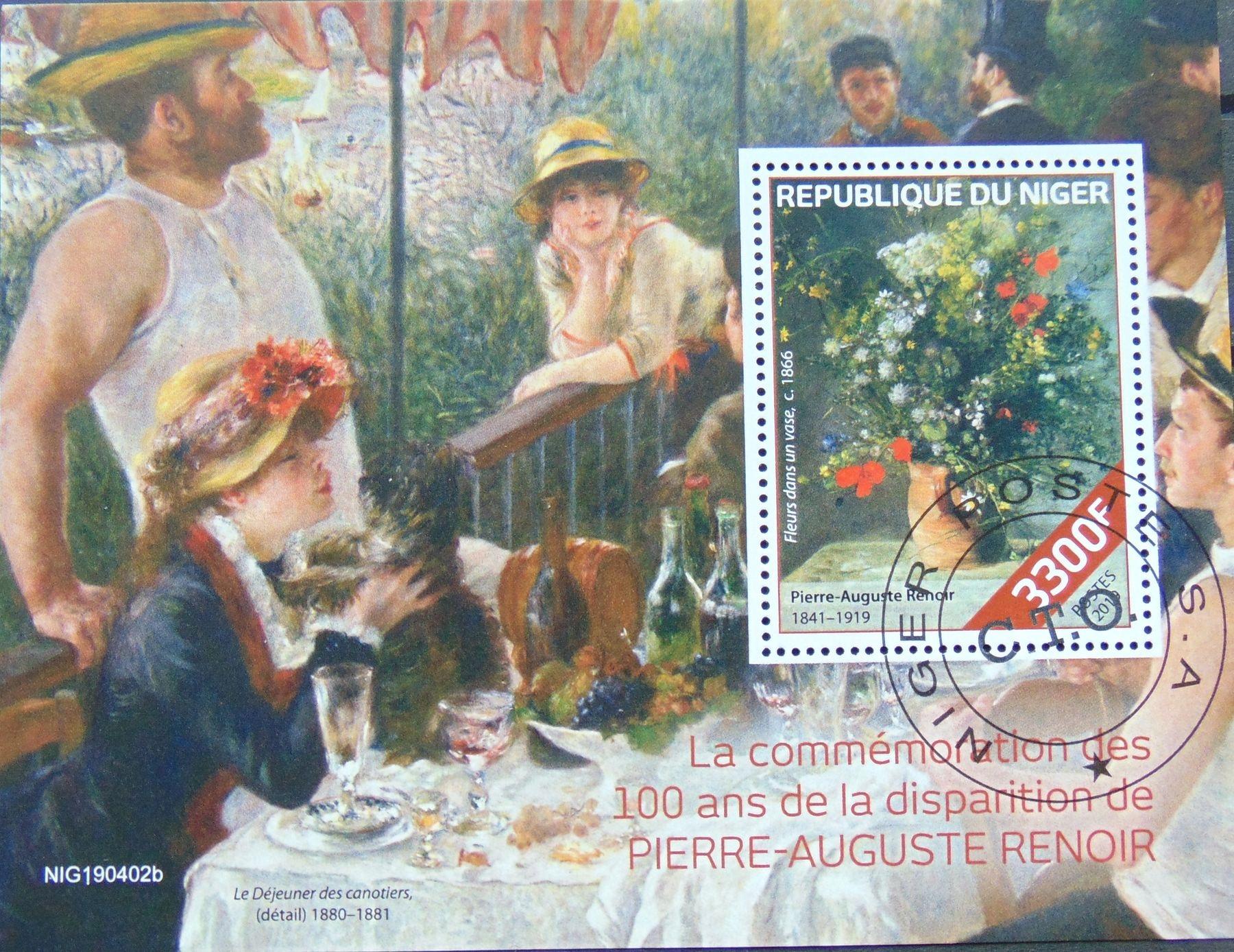 Купить Malarstwo impresjonizm P.-A. Renoir Niger bl #4692 на Otpravka - цены и фото - доставка из Польши и стран Европы в Украину.