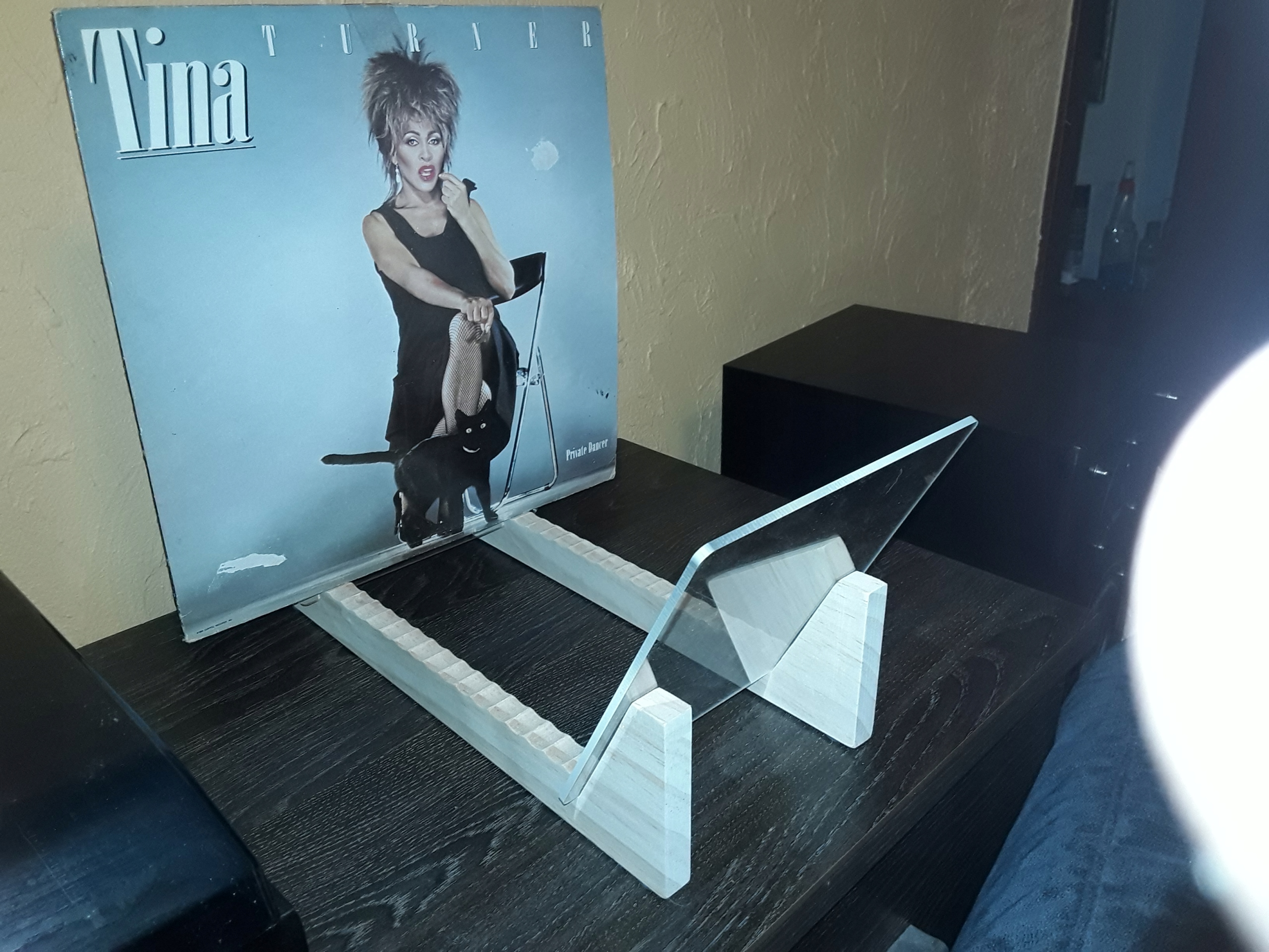 Item Stand,organizer,vinyl records, vinyls 50 discs,j