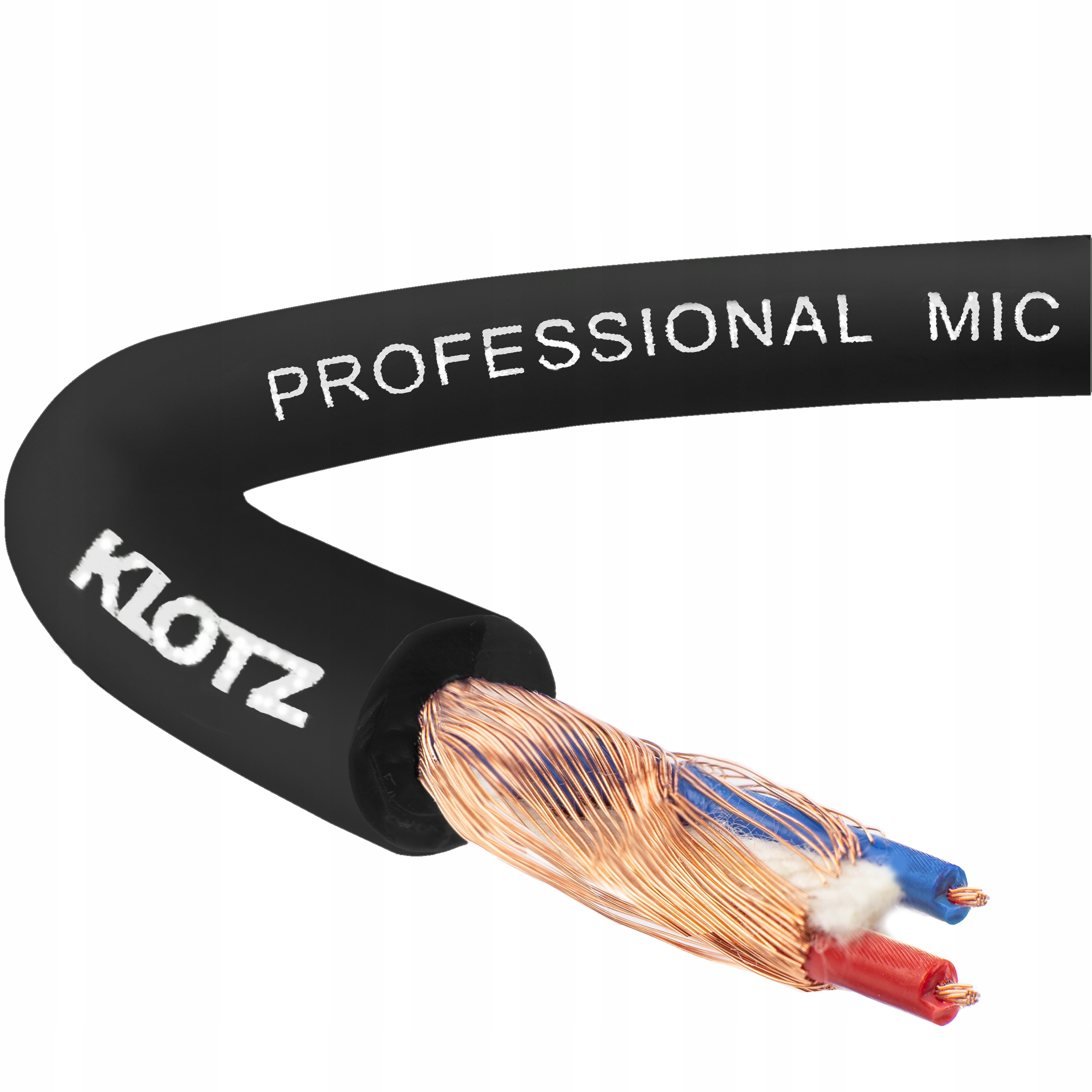 Item KLOTZ MY206 MIC Cable symmetric BLACK