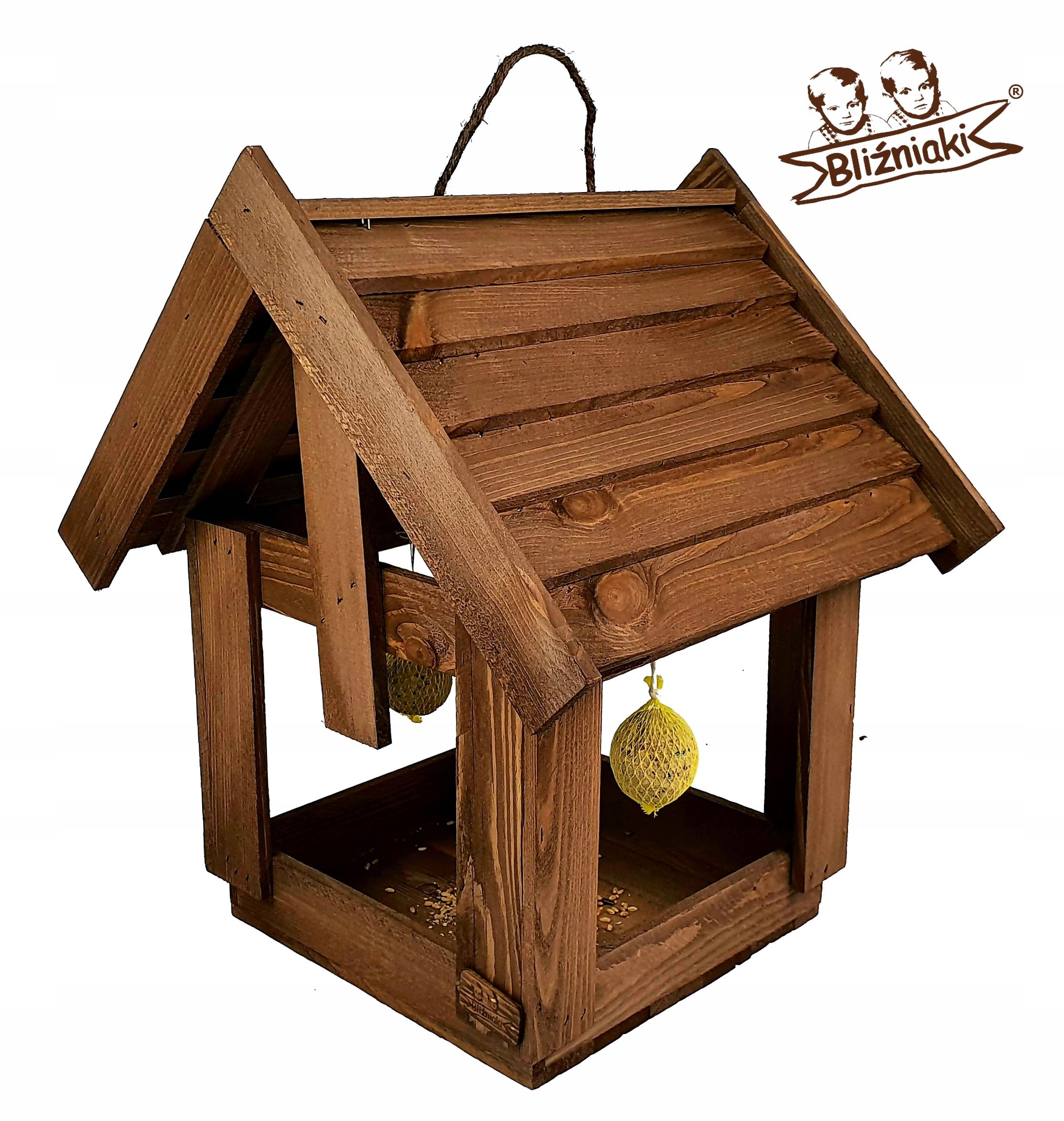 Ozdobné Vtáčie kŕmidlá DREVENÉ Okno, Dom