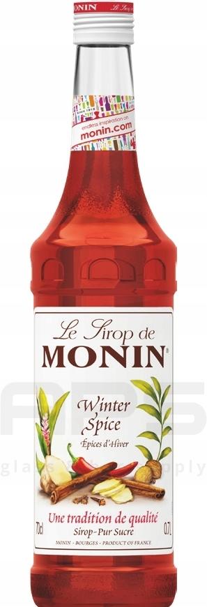 Syrop Monin Winter Spice Rozgrzewający 700ml