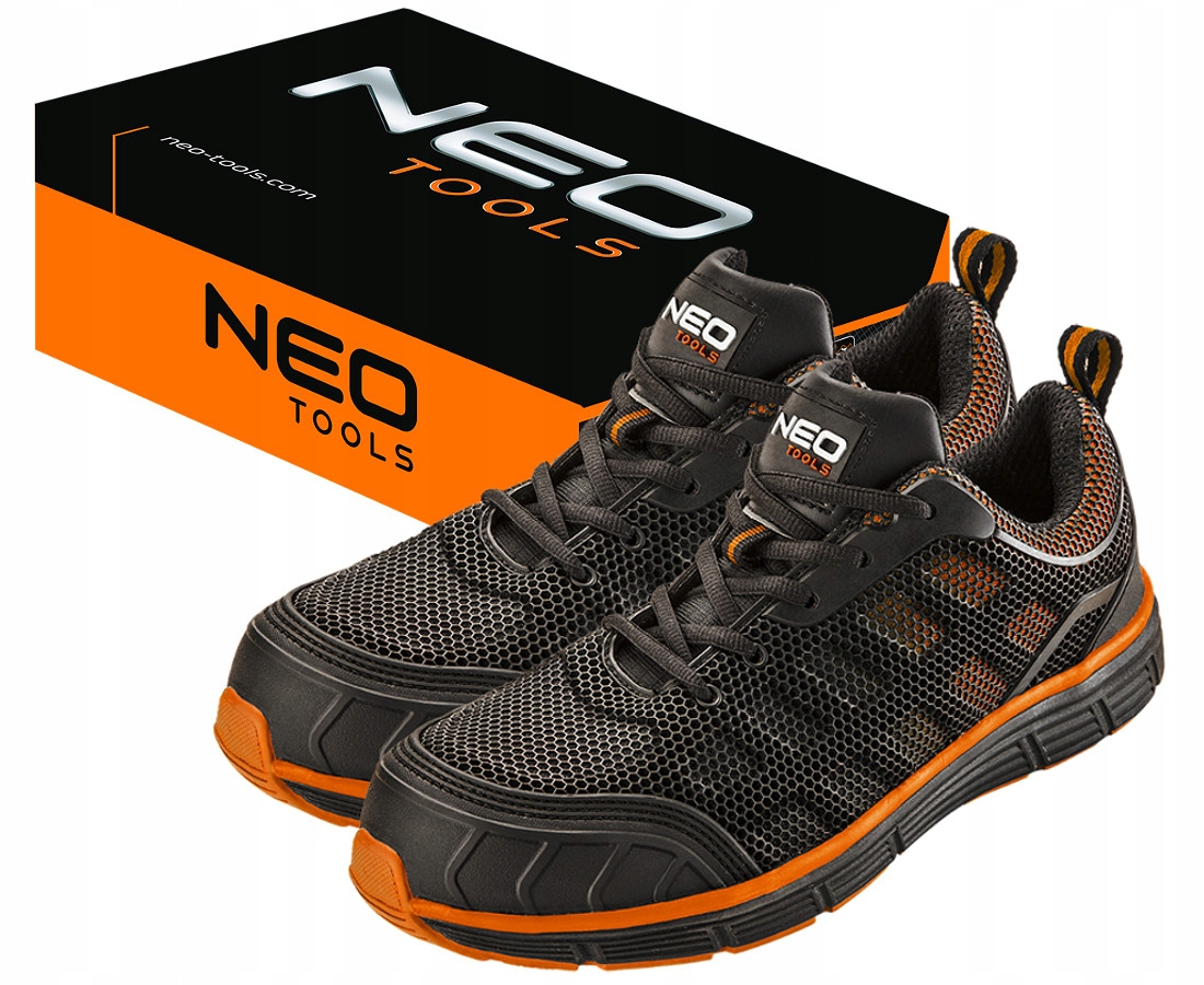 NEO TOOLS BREATHABLE WORK SHOES 82-095 r.44