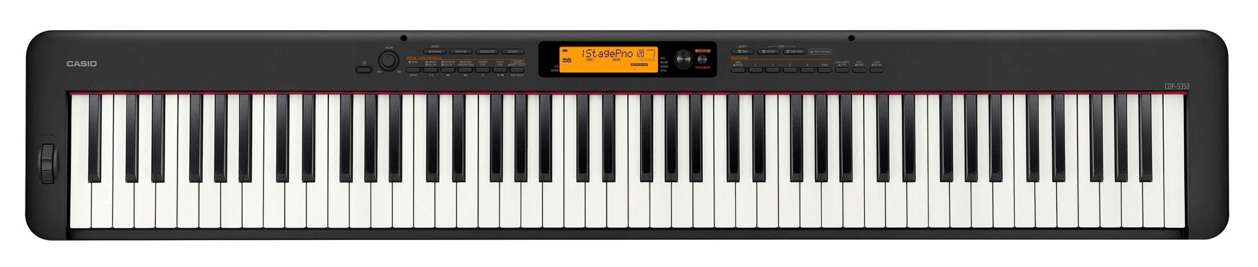 CASIO CDP-S350 BK - DIGITAL PIANO