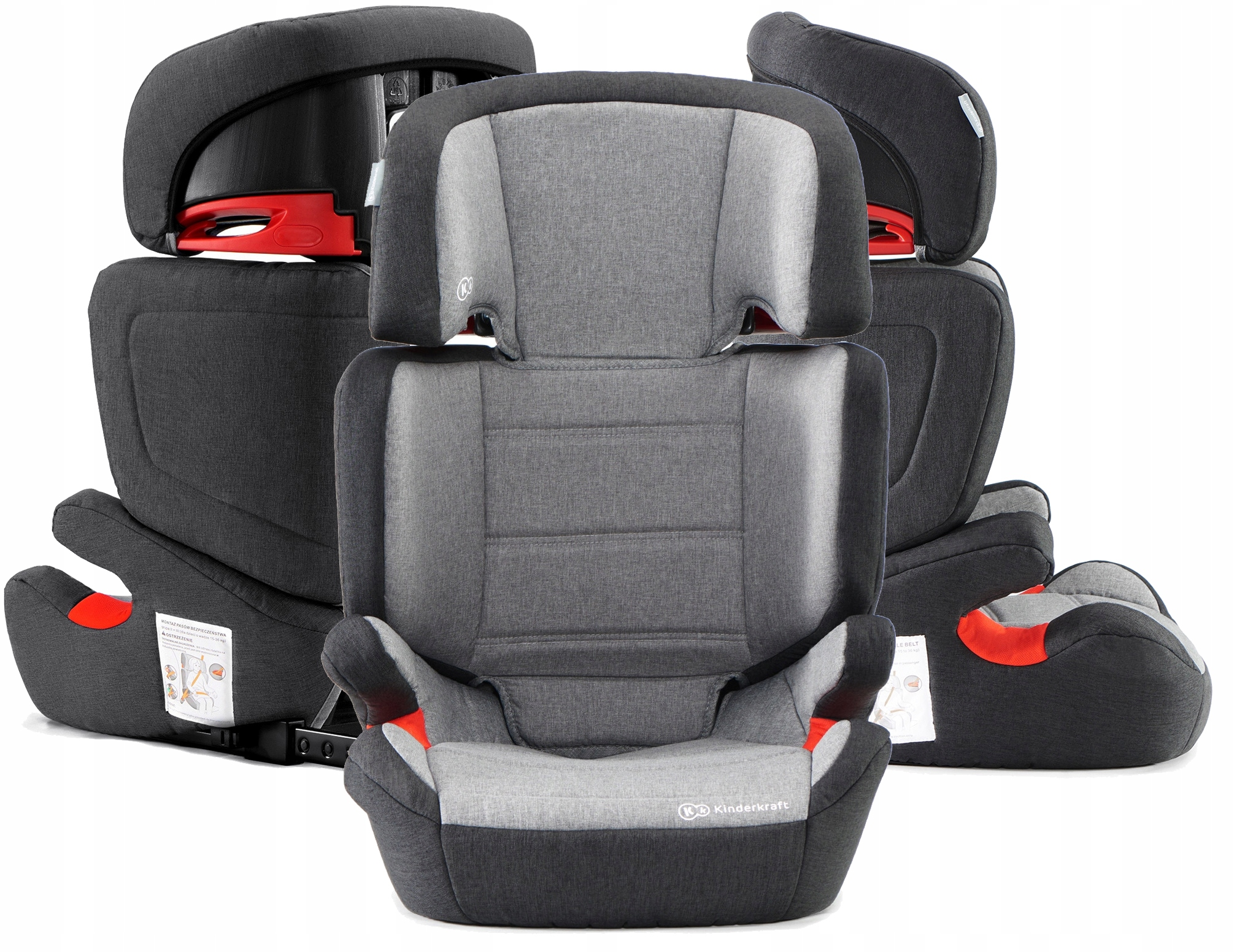 Автокресло KINDERKRAFT JUNIOR FIX ISOFIX