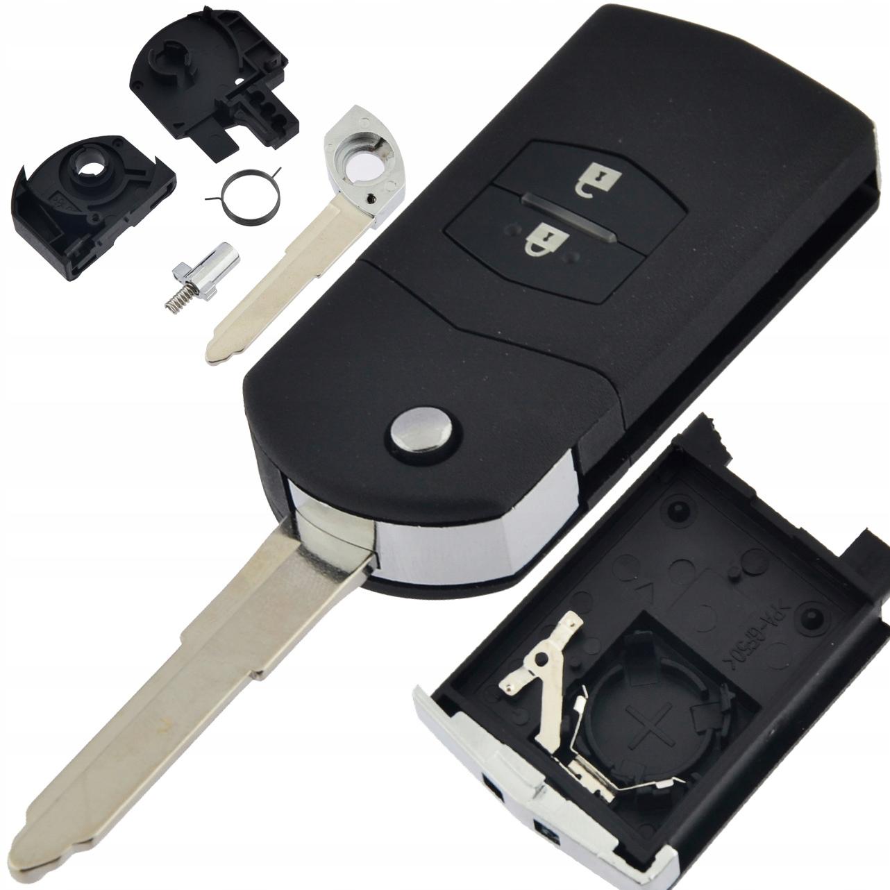 корпус пульт ключ к mazda 2 3 5 6 cx-7 rx-8