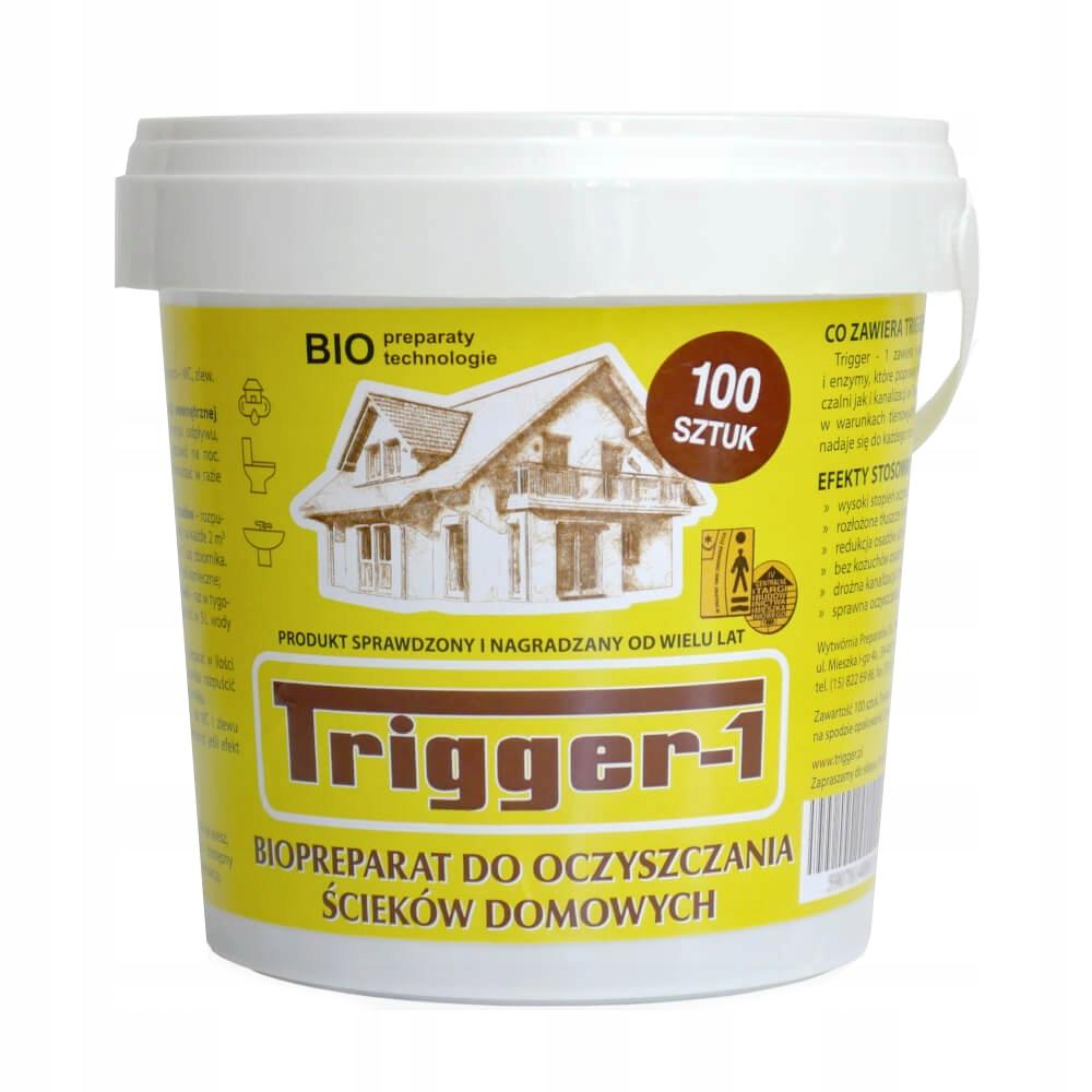 TRIGGER-1 Pilulky pre žumpy Nový Vzorec, 100 Ks.
