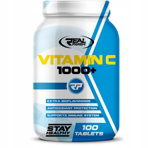 Купить ВИТАМИН C 1000 мг 100 таб АСКОРБИНОВАЯ КИСЛОТА СИЛЬНАЯ на Otpravka - цены и фото - доставка из Польши и стран Европы в Украину.