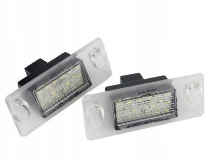 audi a3 8l a4 b5 лампы подсветки массива led