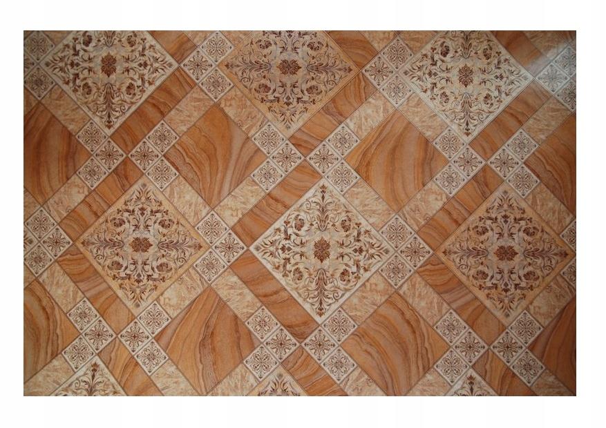 Koberec KOBEREC, PVC 400x400 mozaikové dlaždice dlaždice listy @19743