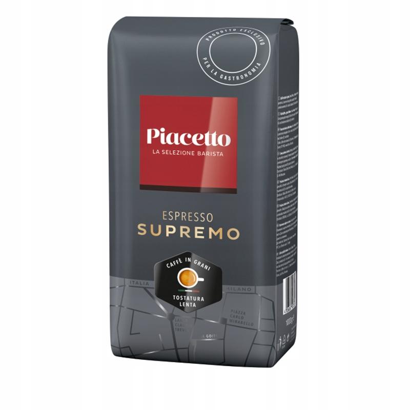 PIACETTO ESPRESSO SUPREMO 1 kg Faktura 8817554268 - Allegro.pl