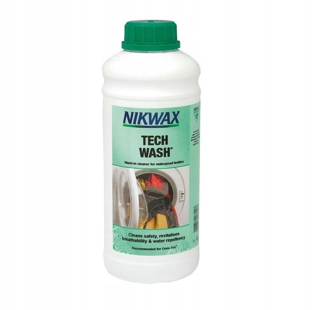 Nikwax Tech Wash 1L жидкость для стирки одежды