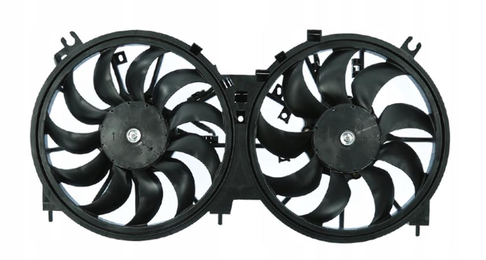 nissan мурано 2008- вентилятор радиатора 35 v6