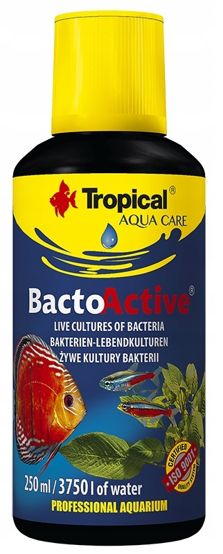 TROPICAL BACTO-ACTIVE 250ml BAKTERIE DO AKWARIUM
