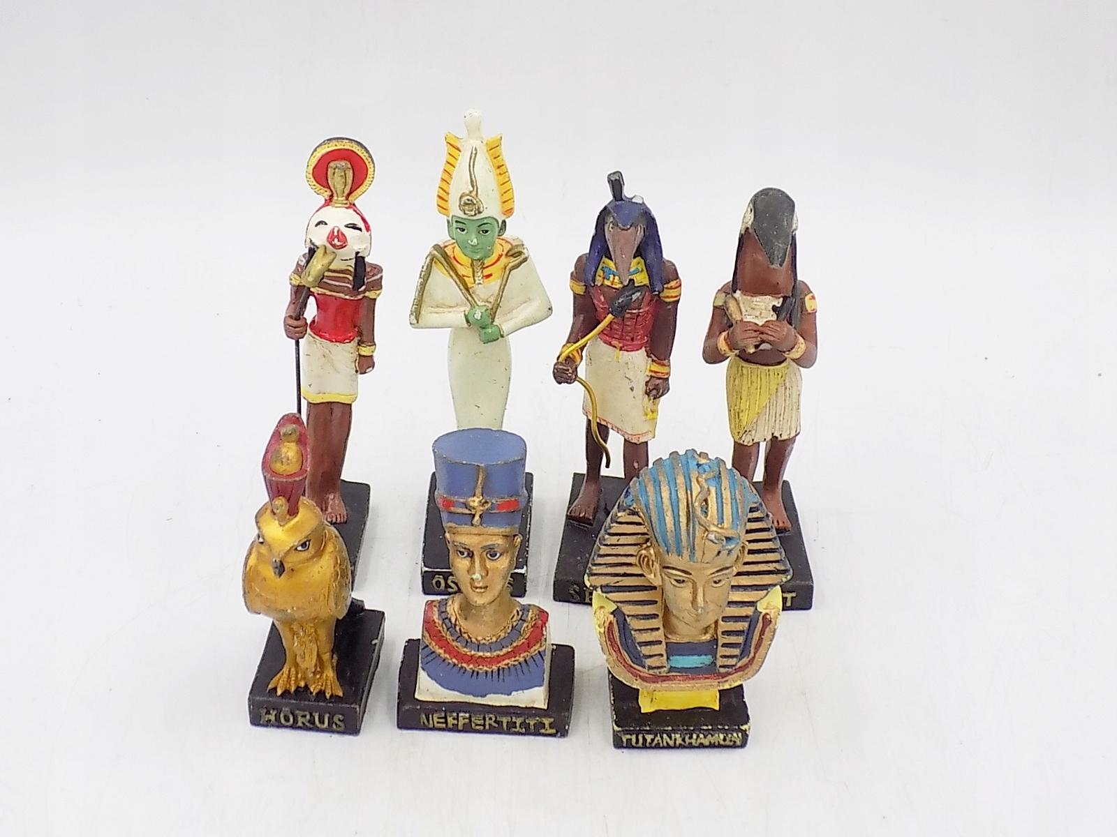 7 figurek kolekcjonerskich Bogowie Egiptu