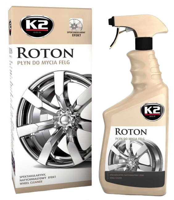 Item K2 ROTON liquid TO WASH the WHEELS 700 ml EFFECTIVE CASE