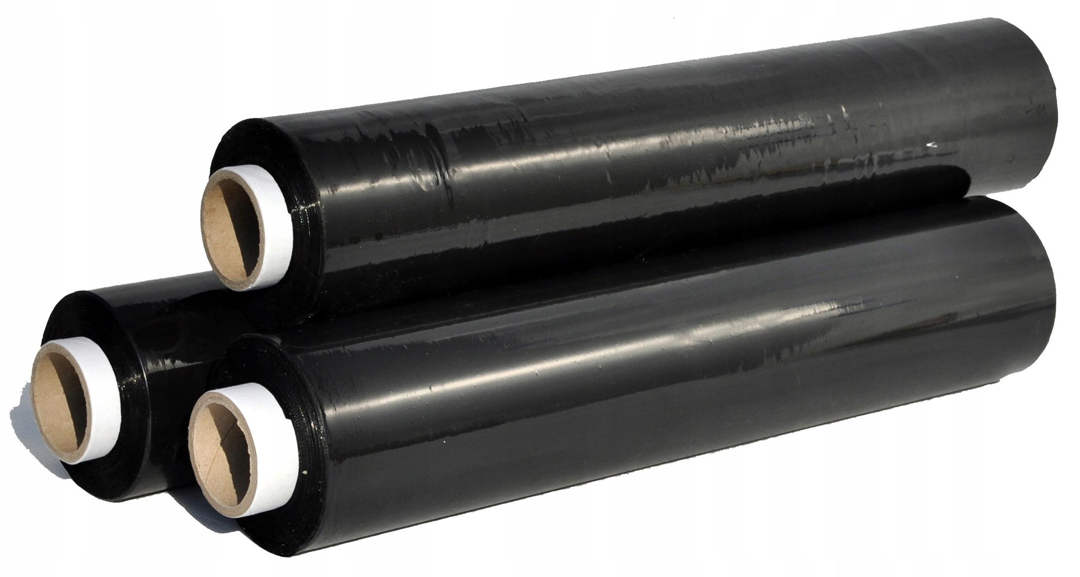 Пленка Стрейч Strecz 23mic 1,5 кг черная
