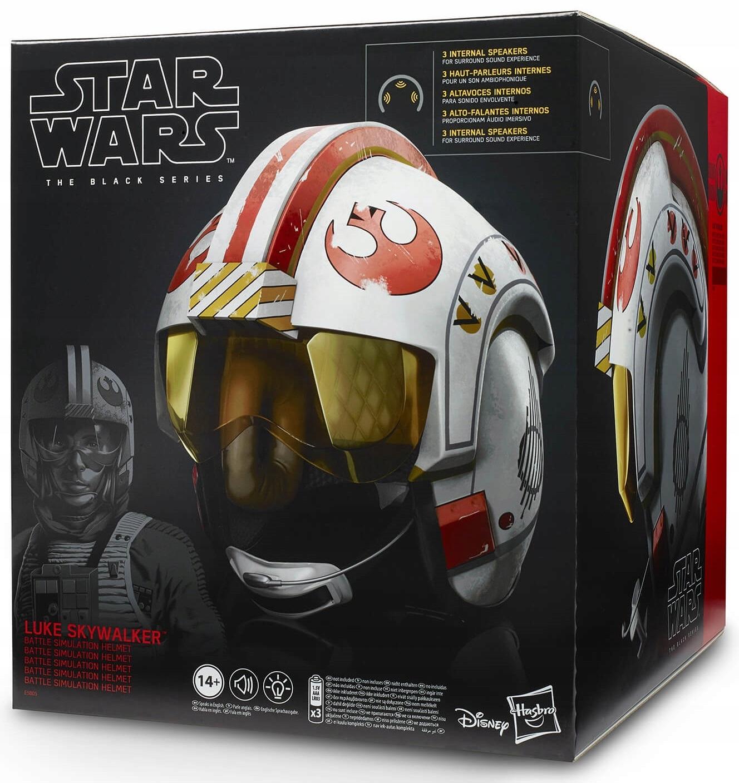 PRILBA Interaktívny pilot X-wing Star Wars Luke
