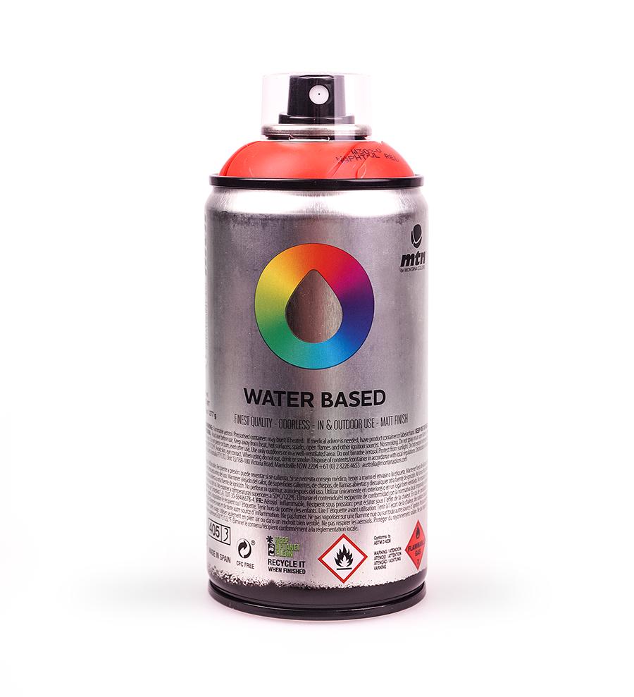 Farba lakier spray akrylowa wodna 300 ml MTN Color
