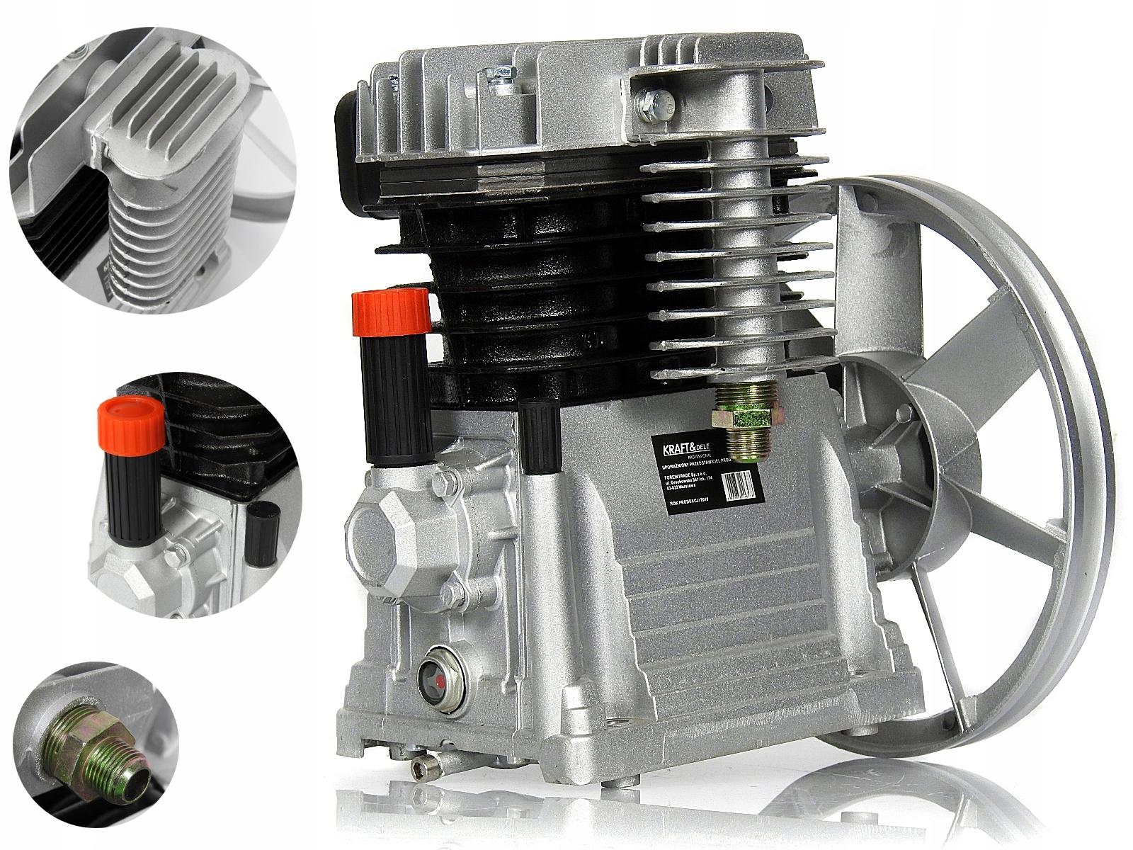 SPRĘŻARKA 700 L/min powietrza kompresor olejowy H2