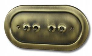 Prepínač prepínače Retro Vintage Loft, pnrm.