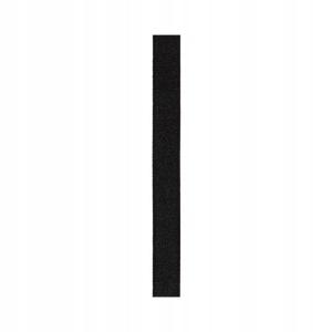 Julimex ramiączka materiałowe RB-32, 10mm, czarne