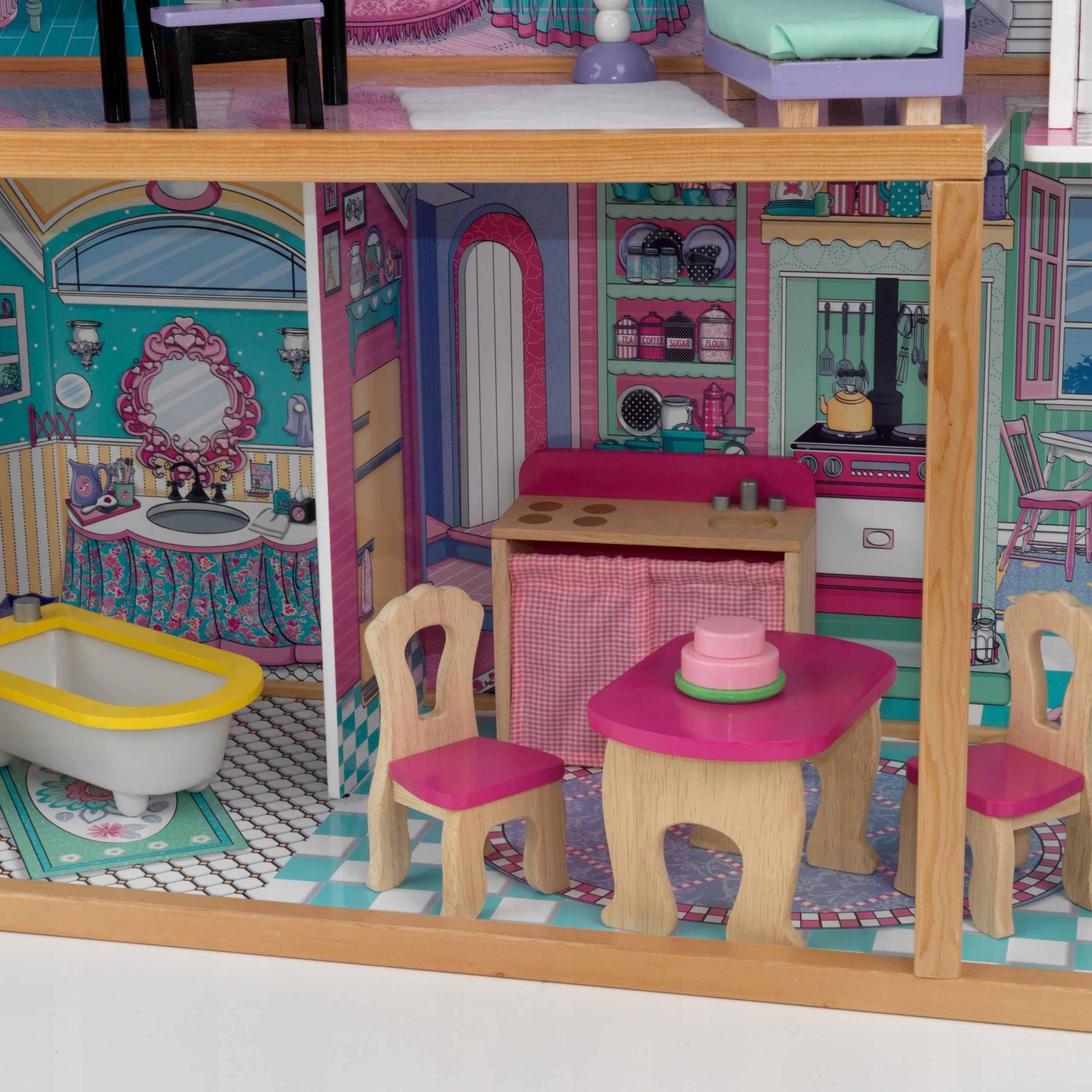 картинки дома для кукол внутри такому