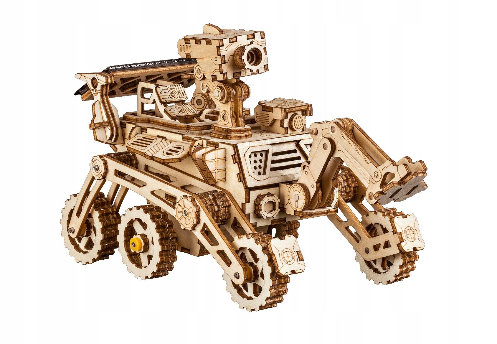 Harbinger Rover  mechaniczne drewniane puzzle 3D
