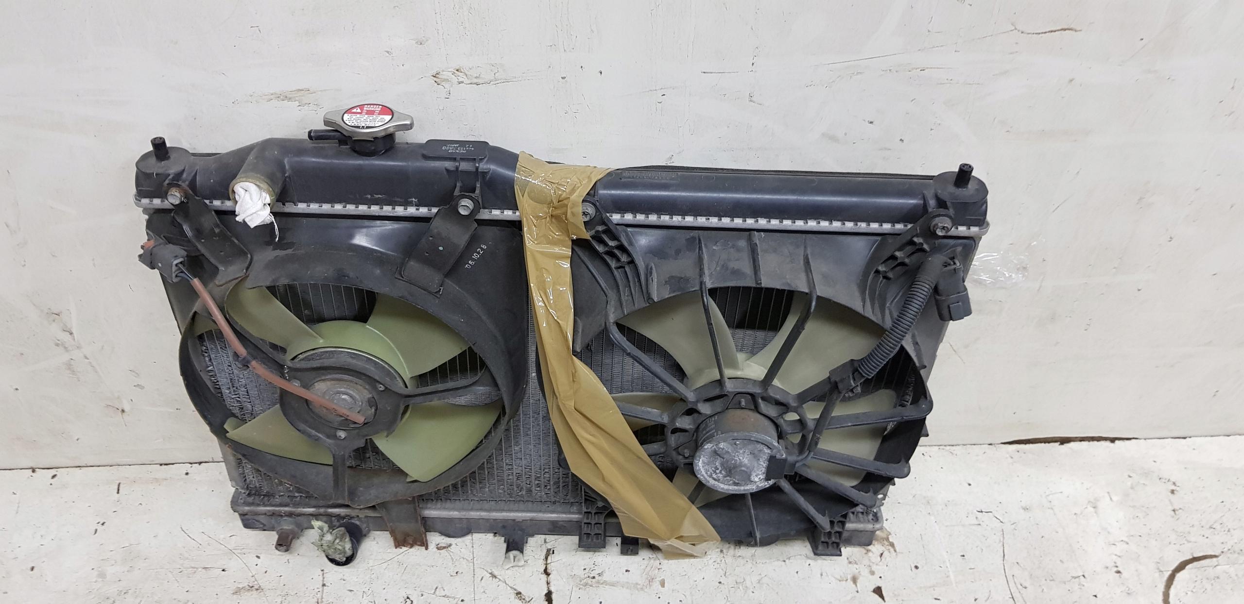 радиатор вода кондиционер вентилятор honda s2000