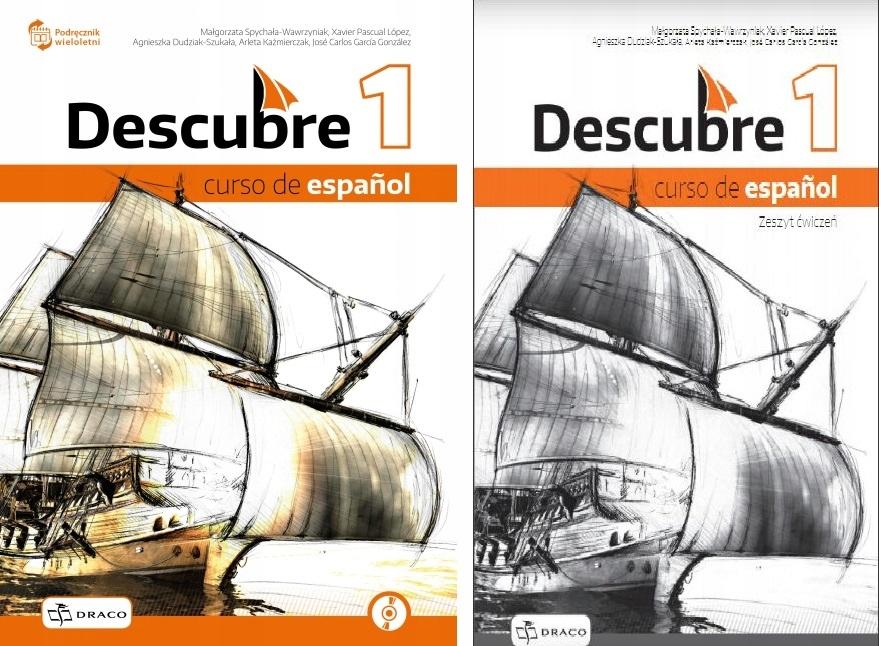 DESCUBRE 1 PODRĘCZNIK i CD i ĆW NPP PO Podstawówce