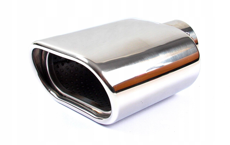наконечник выдохе глушителя накладка inox сталь