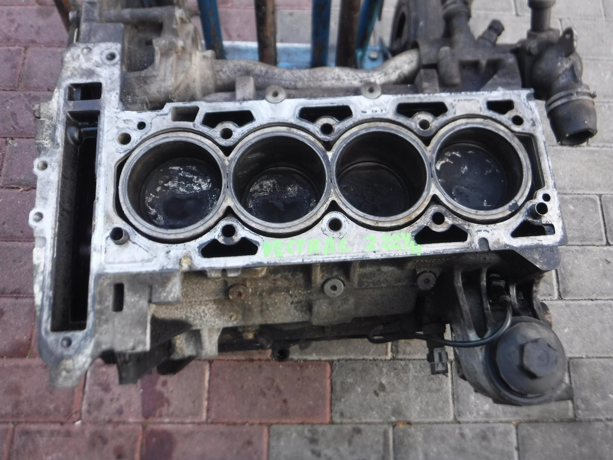 блок двигателя opel vectra c 22 16v z22yh