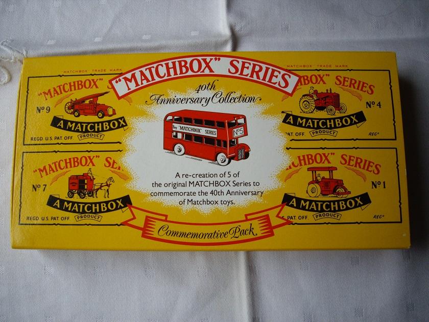 Matchbox 40th Anniversary Collection Zestaw 5 szt