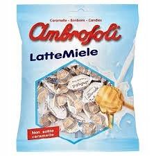 Амброзоли Latte Miele конфеты молочные с медом