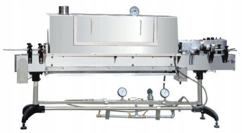 Паровой туннель термоусадочная пленка для банки ZBS83A S/S